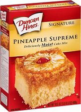 Duncan Hines Signature Pineapple Supreme Cake Mix (2 Pack)