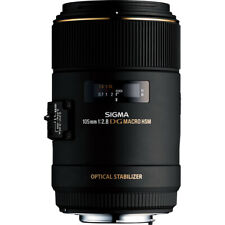 Sigma Second Stock 105mm Macro F2.8 EX DG OS HSM Lens - Nikon Fit