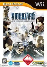 Used Wii Biohazard The Darkside Chronicles  JAPAN JP JAPANESE JAPONAIS IMPORT
