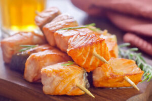 Spice Rubbed Salmon - BBQ Powder Rub Fish Seasoning 50g