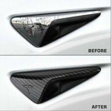 High Quality Side Decoration Carbon Fiber Exterior Accessories For Tesla Model 3