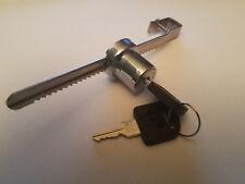 Sliding Glass Door Ratchet Lock Keyed Alike Display Retail Case Showcase Secure