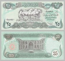 Irak / Iraq 25 Dinars 1990 p74b unc.