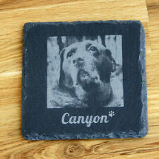 Personalised Pet Memorial Plaque For Pet Cat Dog Grave Stone Slate Marker Gift