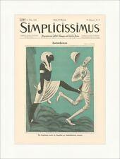 Titelseite der Nummer 50 von 1924 E. Schilling Tutanchamon Simplicissimus 1477