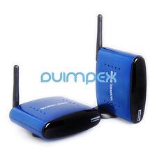 Wireless AV Set 5,8g trasmettitore radio trasmettitore ricevitore 3rca HD TV suono e immagini