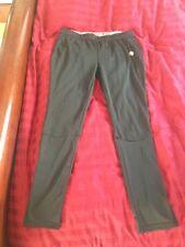 Womens Soffe Black exercise pants Calf Zippers Softball Running
