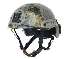 New Airsoft Paintball Protective Ballistic Helmet SetDigital Woodland F462 L/XL