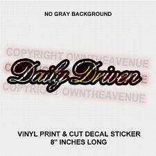 Driven JDM Sticker Bombing Decal Vinyl Low Drift Low  (DailyDrivBubble)