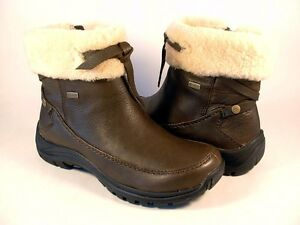 UGG AUSTRALIA WOMENS 'RINK' SHORT BOOTS SZ 5 DARK BROWN AUTHENTIC NEW IN BOX
