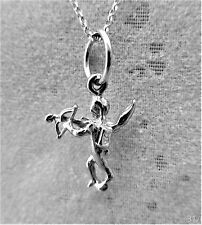 "Sterling Silver (925)  Solid 3D Charm ""Cupid"""