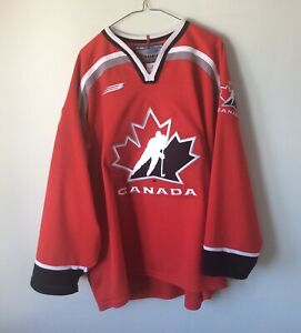Team Canada Bauer Authentic Hockey Jersey Size L