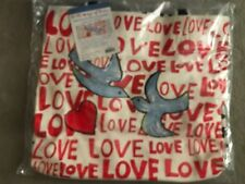 """New Brighton Large Canvas Tote """"On the Wings of Doves"""""""