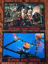Lot of 2 New Disney Nightmare Before Xmas Jack Skellington Postcards