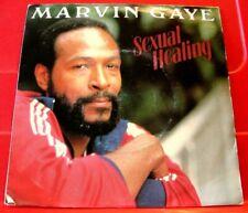 "Marvin Gaye Sexual Healing 7"" PC DUTCH ORIG 1982 CBS b/w Instrumental Soul VINYL"