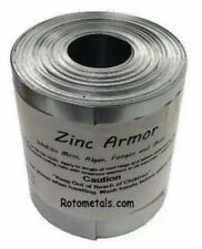 "Zinc Armor - 3"" Wide Zinc Strip, 1-roll of 50 Feet, GREAT DEAL!!"