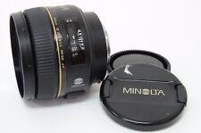 Minolta AF 85mm f/1.4 G (D) Lens