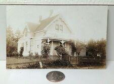 1909 Real Photo Postcard Anchorage Alaska Victorian House