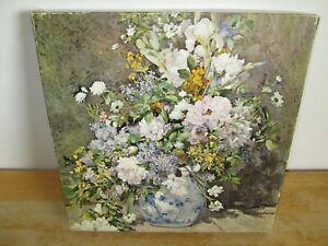 Rare Vintage Jigsaw Puzzle Spring Bouquet, Renoir. Springbok, 1969. 500+ Pieces