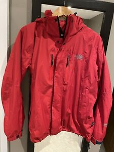 Ladies Red The North Face Goretex Jacket Size M Once Worn  Great Condition