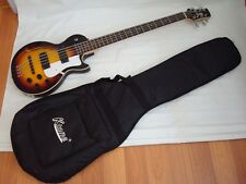 Free Gig Bag, New 8 String Electric Bass Guitar, Hollow Body Guitar, Sunburst