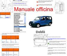 MANUALE OFFICINA Fiat DOBLO WORKSHOP MANUAL SERVICE SOFTWARE ELEARN