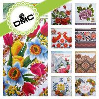 R-16 Cross stitch Boho Embroidery Flower Border Pattern Ukrainian Vyshyvanka