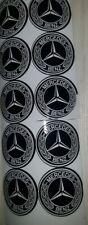 AMG Mercedes Benz Wasserdicht 8 X Aufkleber Sticker Logo Emblem 30mm (3cm) Rund.