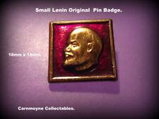 Small Lenin Original Pin Badge.AH3022.