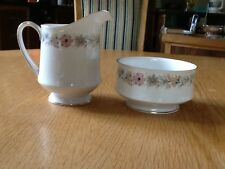 Paragon Belinda Milk Jug and sugar bowl