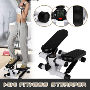 Mini Stepper Home Fitness Twist Exercise Machine Cardio Resistance Trainer