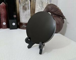 1 Black Obsidian Scrying Mirror - 10cm