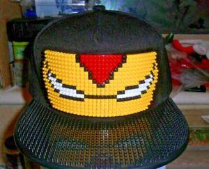 Ironman Lego Snapback Cap Blocks Bricks Baseball Hat Teen/Adult