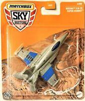 Matchbox - 2021 Skybusters Boeing F/A-18 Super Hornet 4/08 (BBGWK46)