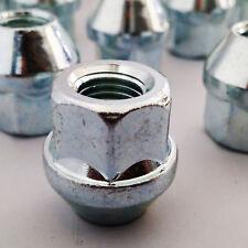 """4 x 3/8"""" UNF Imperial Steel Alloy Wheel Nuts Mini Trailer Open Head 17mm Hex"""