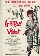 Wildcat (Movie Same) Lucille Ball  Keith Andes  Sheet Music
