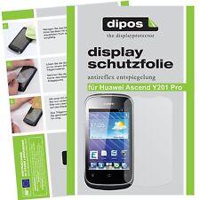 Huawei Ascend Y201 Pro Schutzfolie matt Displayschutzfolie Folie dipos