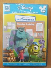 Die Monster AG - Monster Training PC-SPIEL  / MAC Disney PIXAR  DEUTSCHE VERSION
