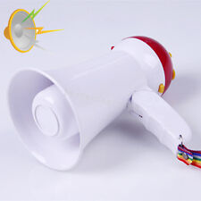 Portable Foldable Handheld Megaphone Loud Speaker Bull horn Voice Amplifer