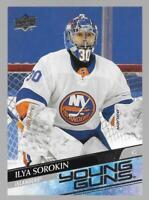 2020-21 Upper Deck Young Guns Ilya Sorokin Rookie # 461 NM/MT RC