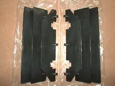 New OEM Suzuki Black Radiator Covers Guards RM125 RM250 RMX250 RM RMX 125 250