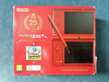 Nintendo DSi XL 25TH ANNIVERSARY NEW SUPER MARIO BROS. Console Boxed UK PAL