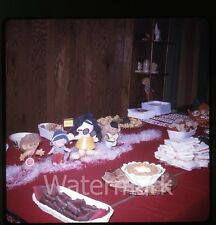 1970 Kodachrome Photo slide  Hippie Costume House Party #7 Russ Troll Dolls