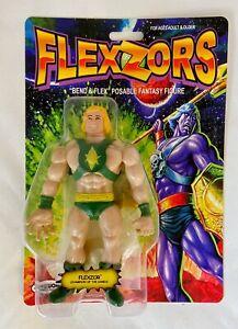 Flexzor FLEXZORS ZoloWorld Zolo Bendable Action Figure He-Man New MOC