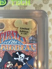 Disney Parks iPhone 4s Case D-Tech Pirates New in Package Limited to 1,967