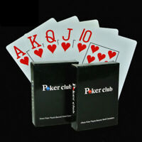 New Playing Cards Game Poker Club Plastic Waterproof Cards Durable Playing Cards