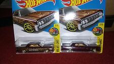 '64 Lincoln Continental Hot Wheels Hw Art Cars Rare paint missing-unopened!