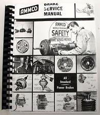 Ammco Brake Service Manual Complete Hydraulic Brake System Servicing  Rebuilding