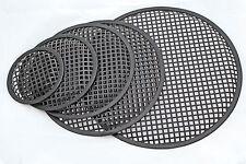 Lautsprecher Gitter Abdeckung Schutz 5 Zoll 127mm Stahlgitter mit Kunststoffrand