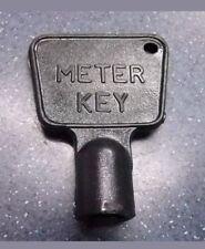 Caja De Medidor De Gas/Eléctrica utilidad clave Armario Triángulo De Plástico Negro